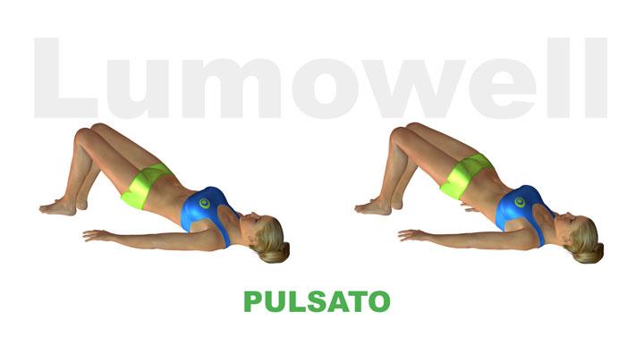 Sollevamento del bacino pulsato esercizio for Dimagrire interno coscia benessere 360