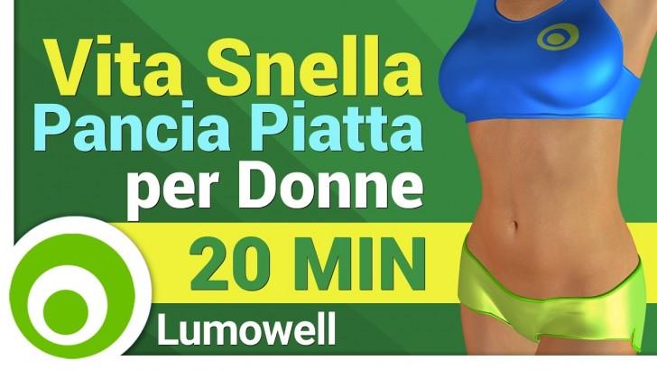 Esercizi per dimagrire la pancia e snellire il girovita for Dimagrire interno coscia benessere 360