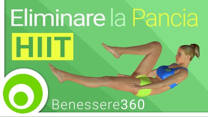 Esercizi per dimagrire la pancia allenamento completo for Dimagrire interno coscia benessere 360