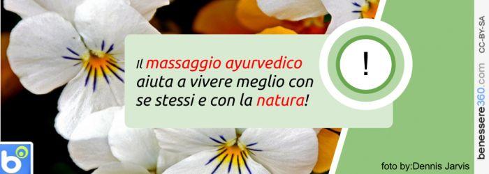 A cosa serve il massaggio Ayrvedico