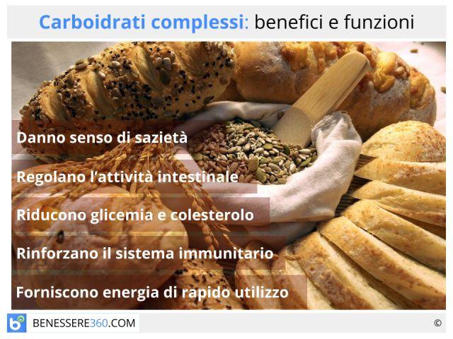 Carboidrati complessi: quali sono? Funzioni ed elenco degli alimenti