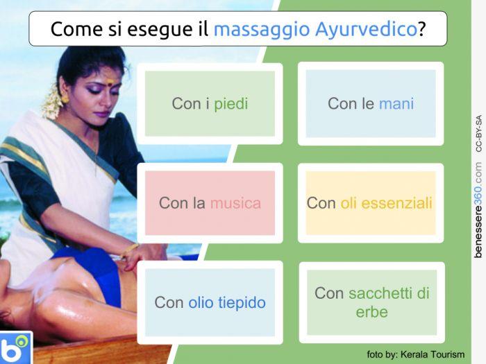 Come si esegue il massaggio ayrvedico