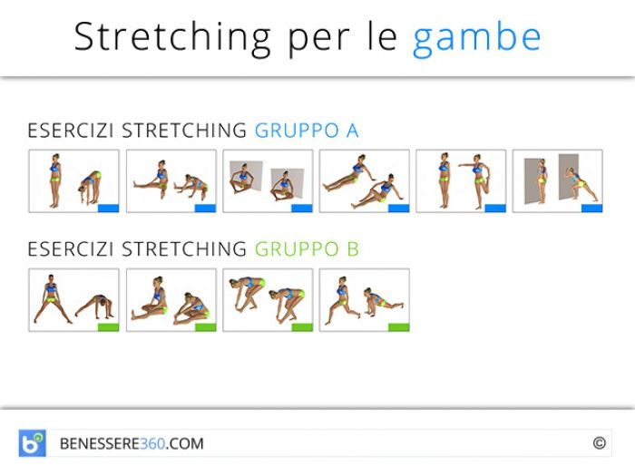 Come fare stretching: esercizi e tutorial