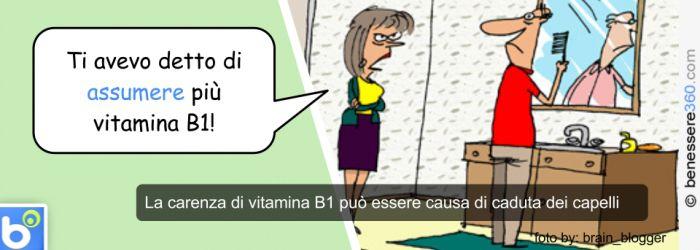 Vitamina B1 e capelli
