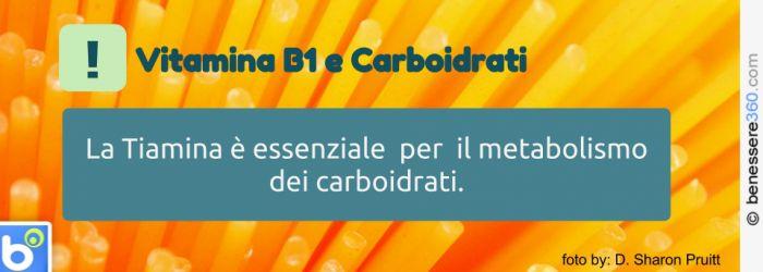 Vitamina B1 e carboidrati