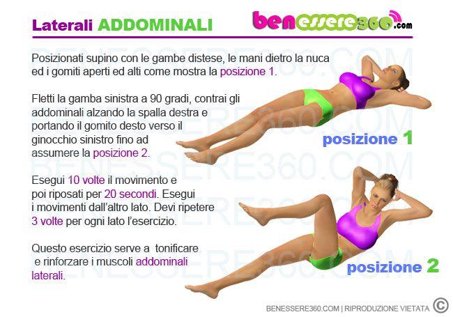Addominali laterali