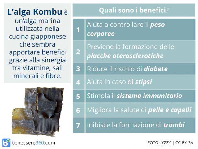 Alga kombu: proprietà. Fa dimagrire? Valori nutrizionali, benefici e controindicazioni