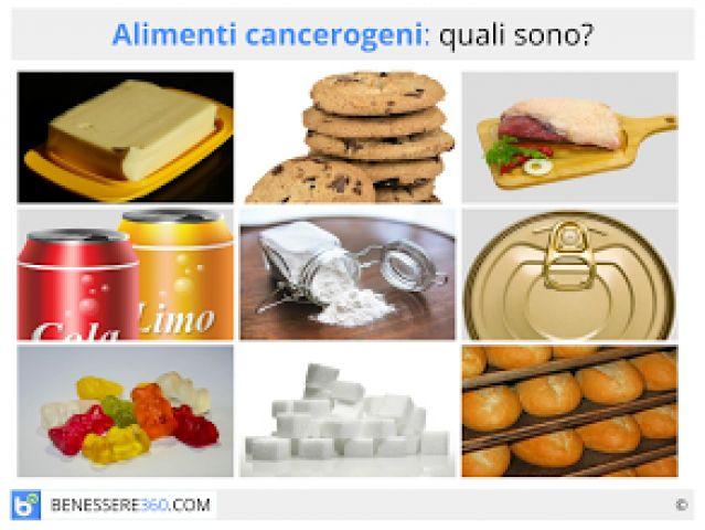 Alimenti cancerogeni, prodotti e sostanze che favoriscono i tumori