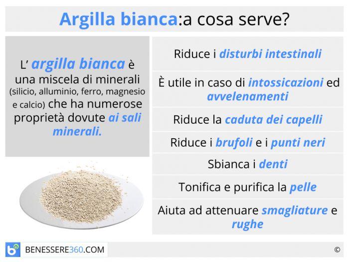 Argilla Bianca Proprieta Benefici Ed Uso Interno Ed Esterno