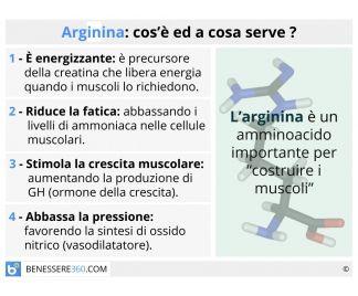 Arginina: effetti, alimenti ricchi, benefici e controindicazioni