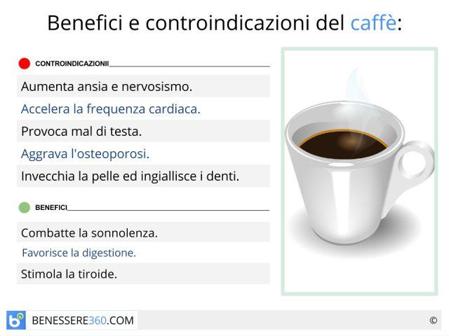 Il caffè fa male o bene? Fa ingrassare o dimagrire? Le proprietà