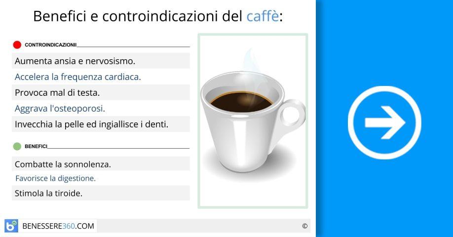 Il caff fa male o bene fa ingrassare o dimagrire le for Dimagrire interno coscia benessere 360