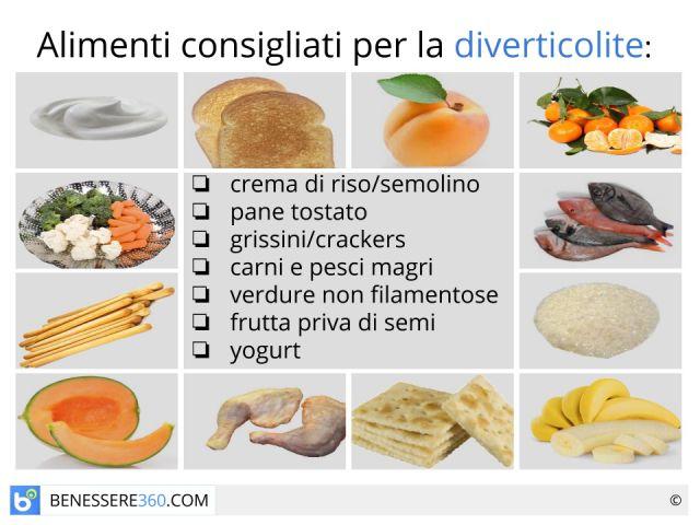 Dieta per diverticoli: cosa mangiare? Alimenti consigliati e da evitare