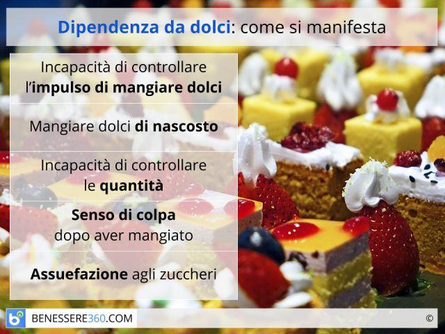 Dipendenza da dolci: sintomi, cause e rimedi
