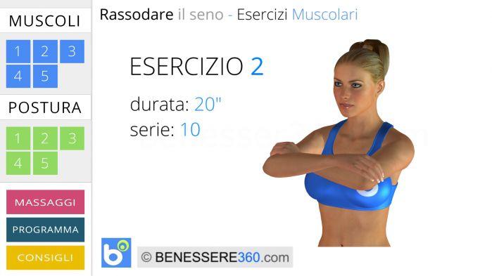 Esercizio muscolare per seno - 2