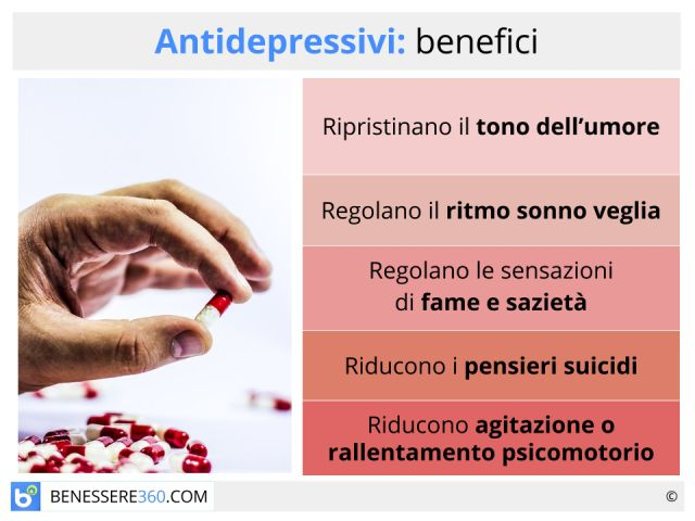 Antidepressivi: benefici, controindicazioni ed effetti collaterali dei farmaci contro la depressione