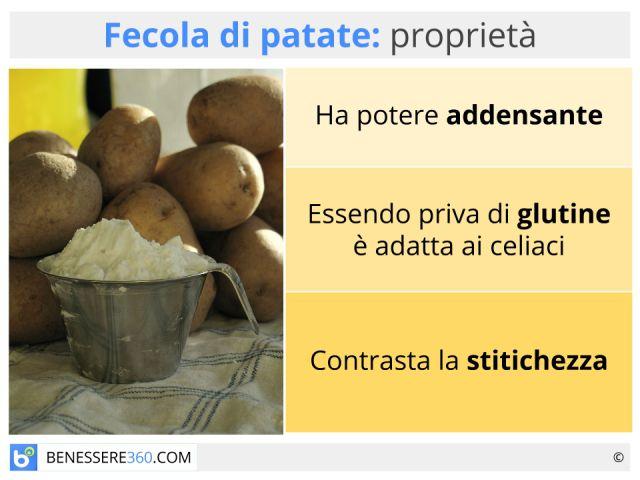 Fecola di patate: a cosa serve? Proprietà, calorie ed utilizzo