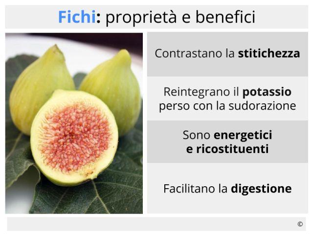 Fichi proprietà, benefici, calorie e controindicazioni dei frutti freschi o secchi