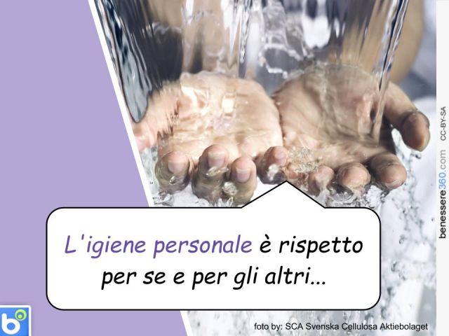 Igiene personale: regole e consigli per la pulizia del corpo