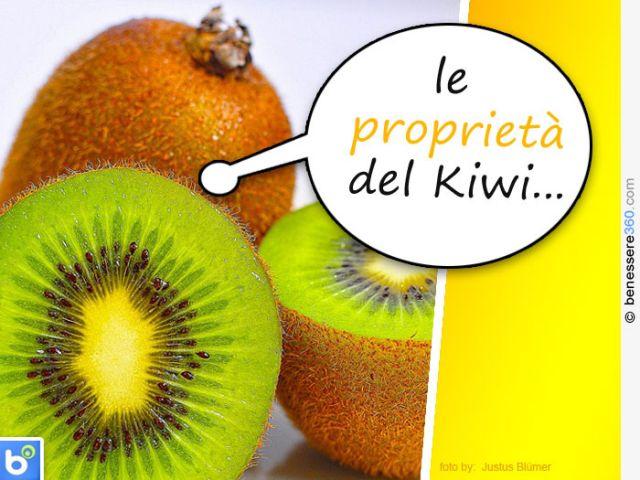 Kiwi: proprietà, calorie, valori nutrizionali, benefici e vitamine