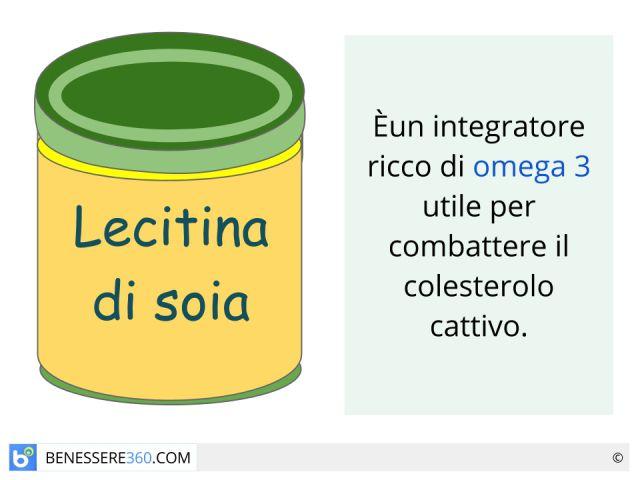 Lecitina di soia: proprietà, controindicazioni, benefici ed effetti collaterali