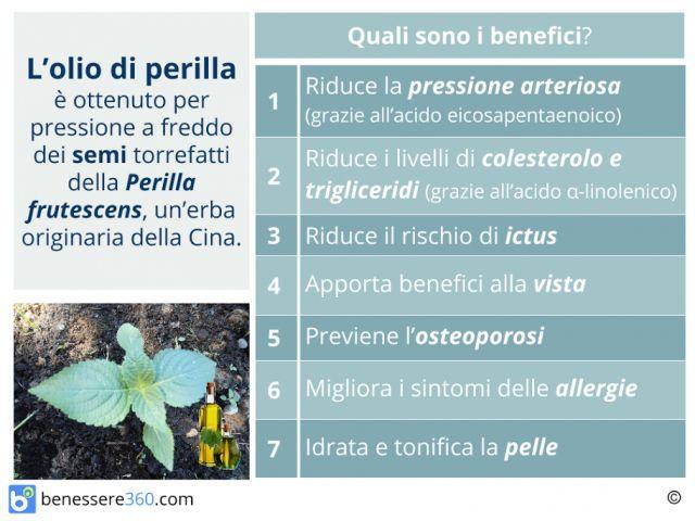 Olio di Perilla: come si usa?  Proprietà, dosaggio e controindicazioni