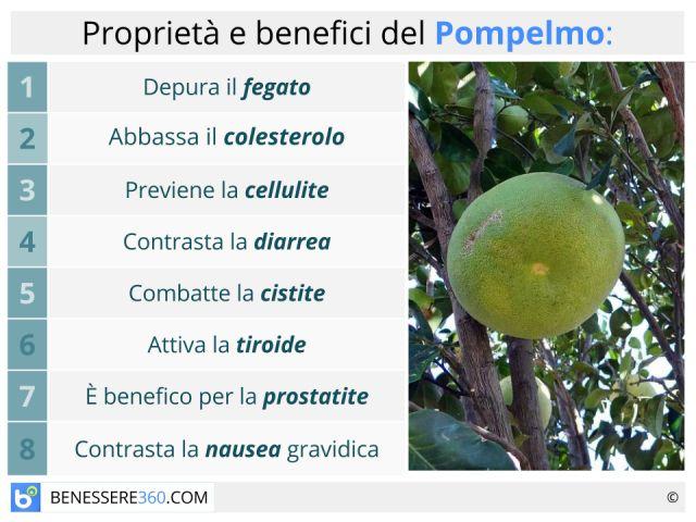Pompelmo: proprietà e calorie di semi e succo. Fa dimagrire? Benefici e controindicazioni