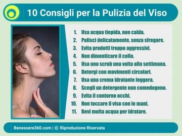 durata pulizia viso