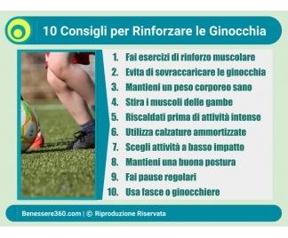 Rinforzare le ginocchia