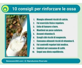 Rinforzare le ossa