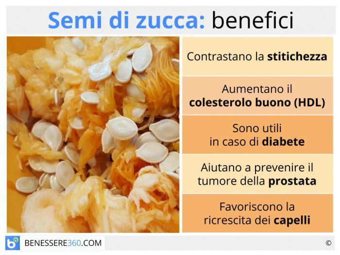 cancro alla prostata olio di semi di zucca