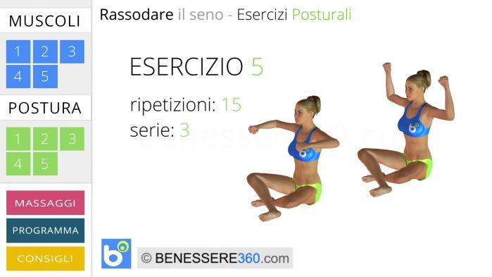 Esercizio posturale seno 5