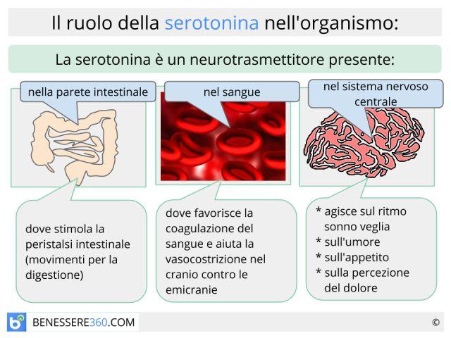 Serotonina: naturale, omeopatica, da alimenti o integratori