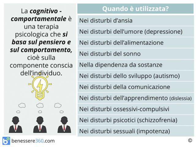 Terapia cognitivo comportamentale: cos'è? Funziona? Tecniche ed esercizi