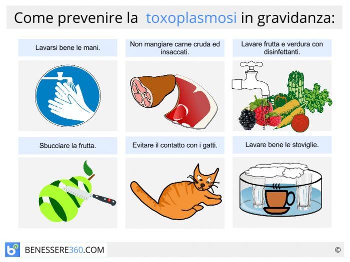 toxoplasmosi uomo sintomi