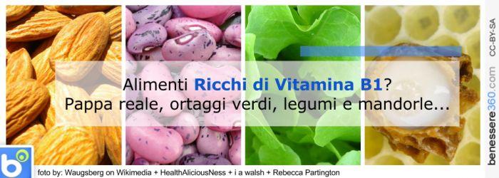 Alimenti ricchi di vitamina B1