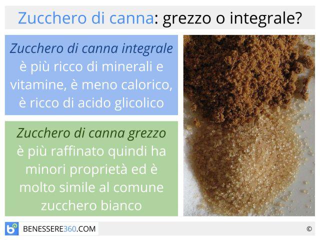 Zucchero di canna: grezzo o integrale? Proprietà, benefici e rischi